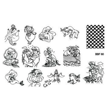 Loja BBF 60 Stamping Plate