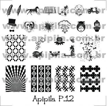 Apipila P12 Stamping Plate