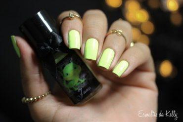 Esmaltes Da Kelly Juno Neon Pastel Yellow