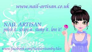 Nail-Artisan Scraper