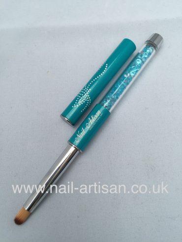 Nail-Artisan Bloomer Nail Art Brush – Turquoise