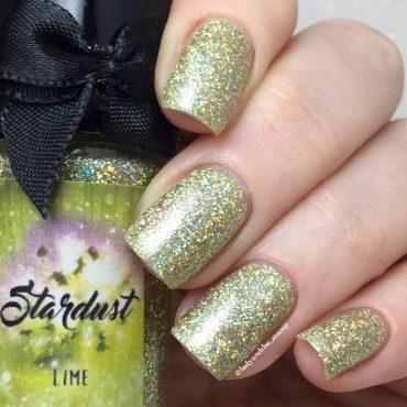 STARDUST – LIME By Esmaltes da Kelly...