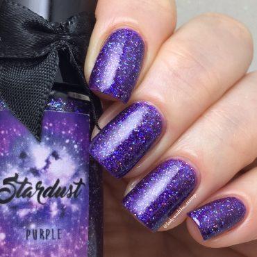 STARDUST – PURPLE By Esmaltes da Kelly...