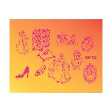 Loja BBF Mini Stamping Plate M2