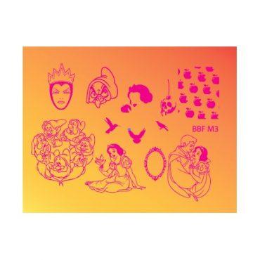 Loja BBF Mini Stamping Plate M3