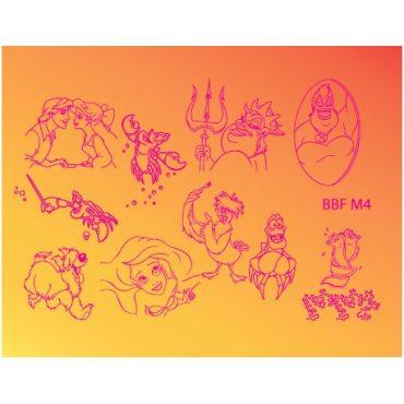 Loja BBF Mini Stamping Plate M4