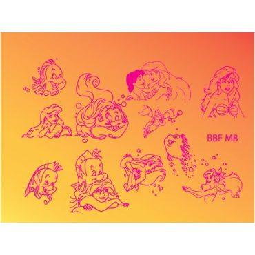 Loja BBF Mini Stamping Plate M8