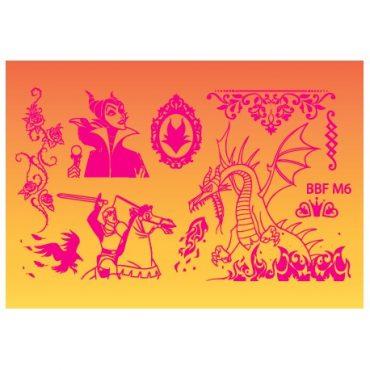Loja BBF Mini Stamping Plate M6