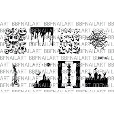 Loja BBF 02 Stamping Plate