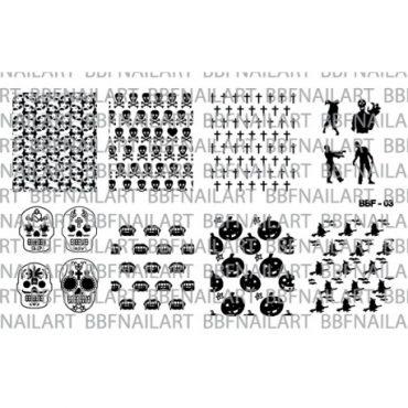 Loja BBF 03 Stamping Plate