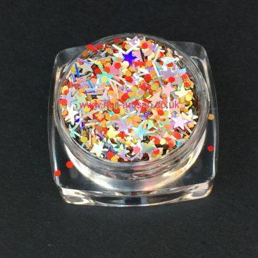 Fireworks – Custom Glitter Mix (Xmas)