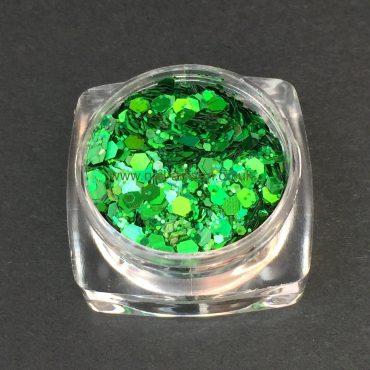 Green with Envy – Custom Glitter Mix