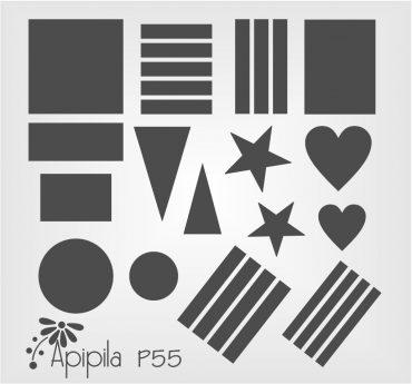 Apipila P55 Stamping Plate