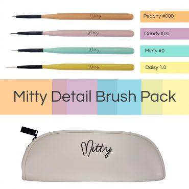 MITTY DETAIL BRUSH PACK