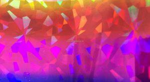 Orange:Pink:Blue Diamonds Foil