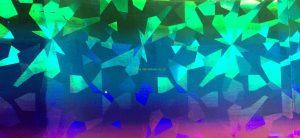 Pink:Blue:Green Diamonds Foil