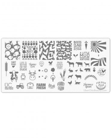 Farm Fresh – Uber Mini Nail Stamp...