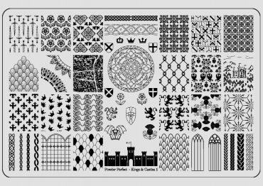Kings & Castles STAMPING PLATE 01 –...