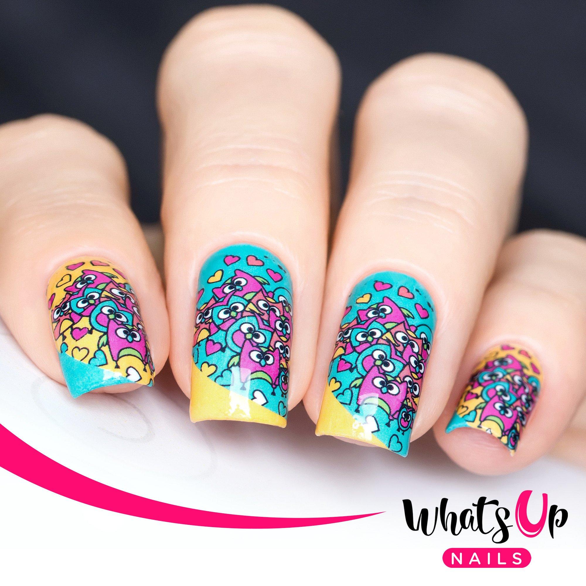 Whats Up Nails Water Decals - Nail-Artisan