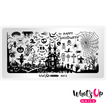 Whats Up Nails – A012 Happy Halloween