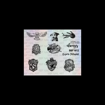 Loja BBF Mini Stamping Plate M12
