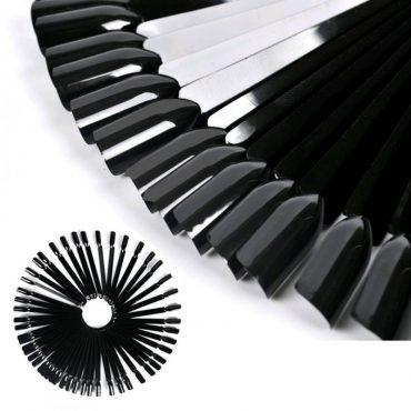 50 Nail Art Black Colour Pop Stick...