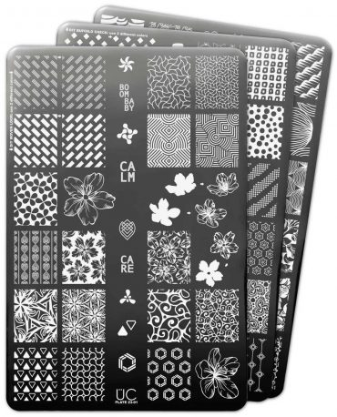 Uberchic Nail Stamp Plates – Collection 23