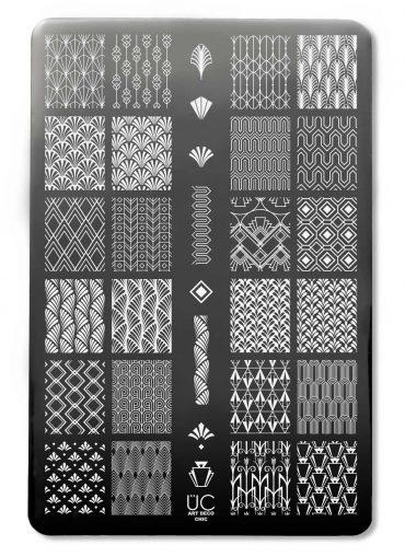 Art Deco Chic – UberChic Nail Stamping...