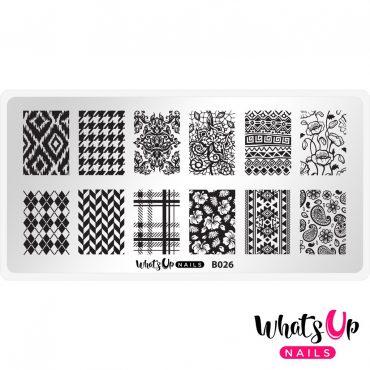 Whats Up Nails – B026 Fashion Prints