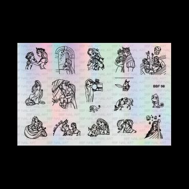 Loja BBF 98 Stamping Plate