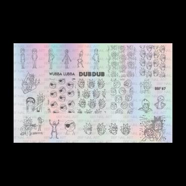 Loja BBF 87 Stamping Plate