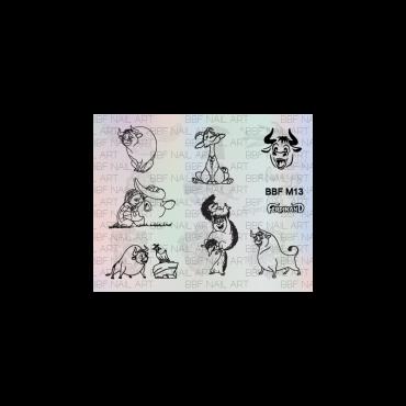 Loja BBF Mini Stamping Plate M13 *NEW*