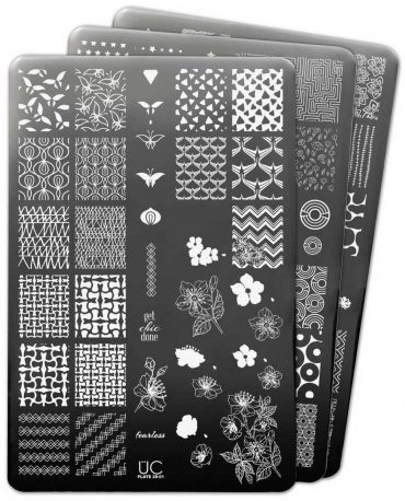 Uberchic Nail Stamp Plates – Collection 28...