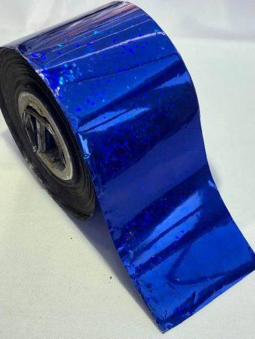 Confetti Blue Nail Art Transfer Foil