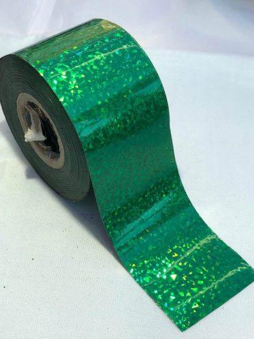 Confetti Green Nail Art Transfer Foil