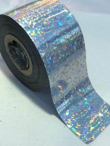 Confetti Silver Nail Art Transfer Foil