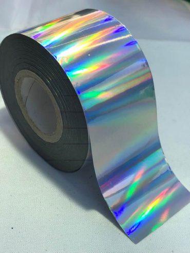 Metallic Silver Nail Art Transfer Foil