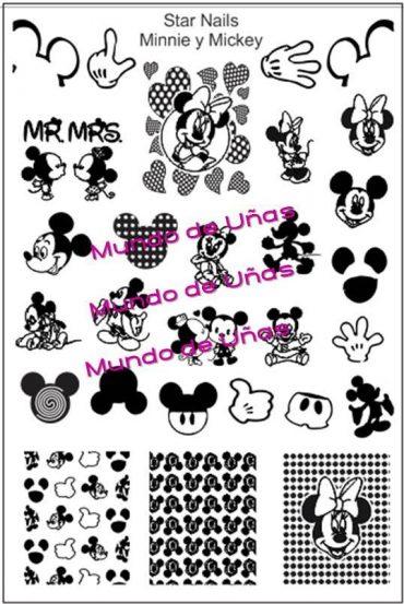 Star Nails Minnie & Mickey *NEW*
