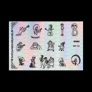Loja BBF 102 Stamping Plate *NEW*