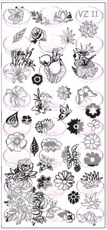 VZ011 Floral *NEW*