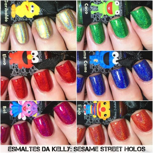 Esmaltes da Kelly Sesame Collection (Holo)